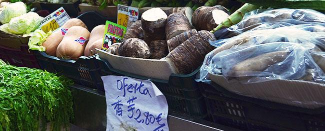 Visita al mercado de los Mostenses