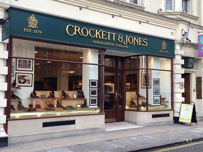 tiendas de moda masculina en Jermin Street