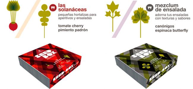 ejemplos seed box - cajas de cultivo para huertos urbanos