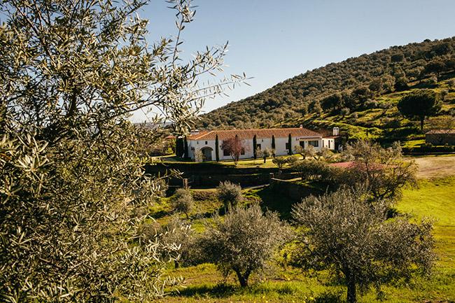 campo de Extremadura en abril