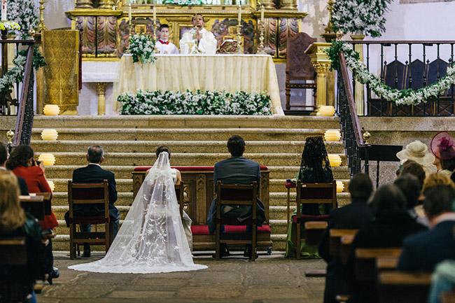 boda en la iglesia de San Martín de Tour en Trujillo