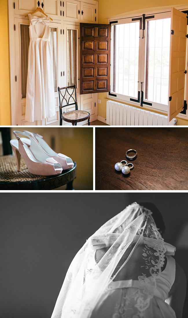 preparación novia para la boda