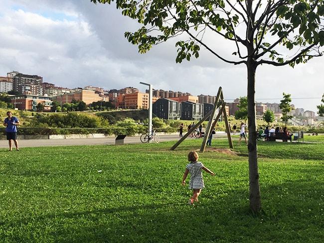 Parque Mataleñas, Santander