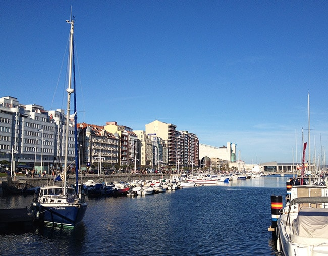 Puerto deportivo Santander
