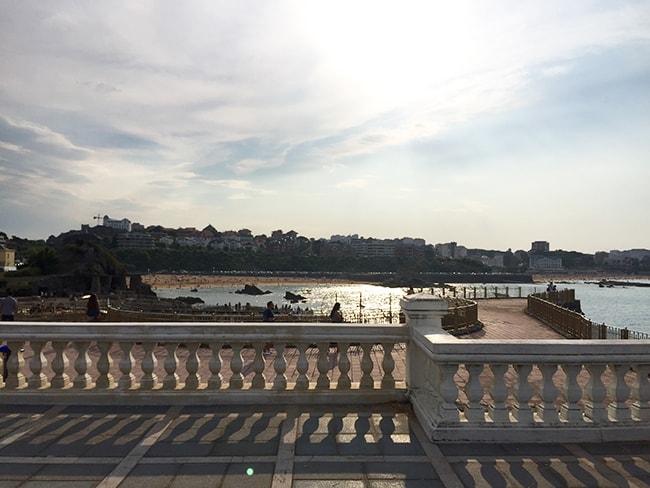 Vista de la península de la Magdalena, playas del Sardinero
