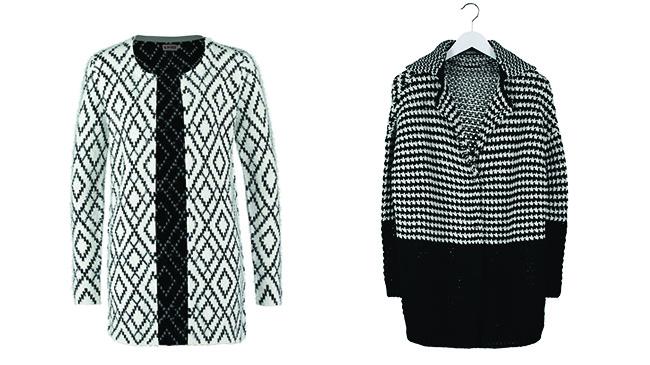 moda black & white