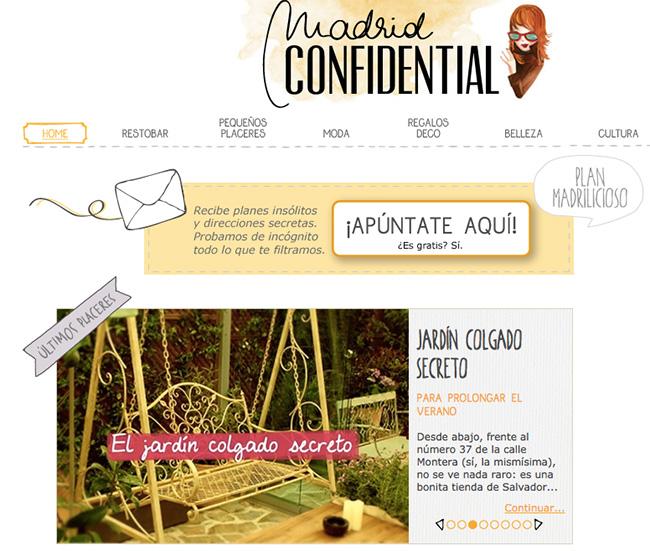blog madrid confidential