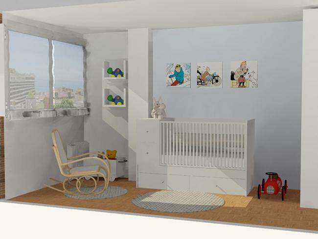 Proyecto decoración Estudio 180