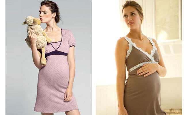 camisón embarazo o lactancia