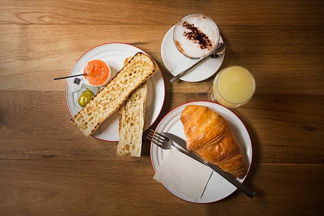 Gust desayunos y comidas ligeras