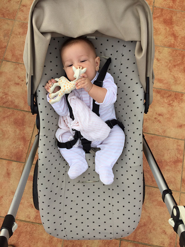 funda para bebé