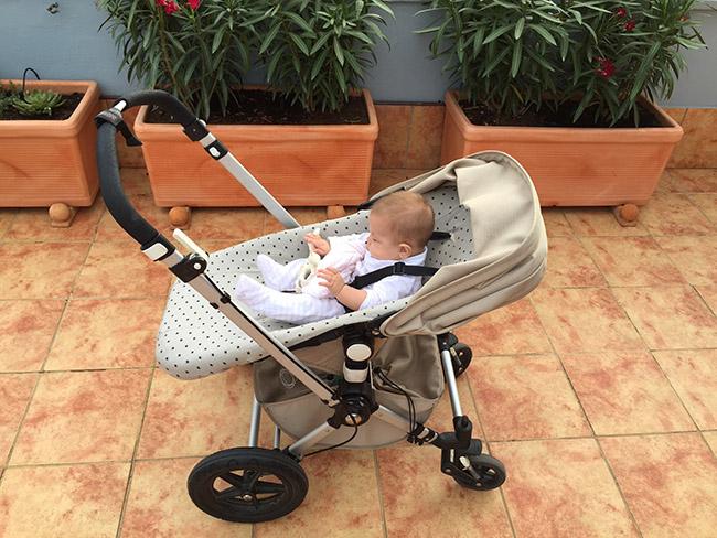 Funda para el carrito de beb for Carritos de bebe maclaren