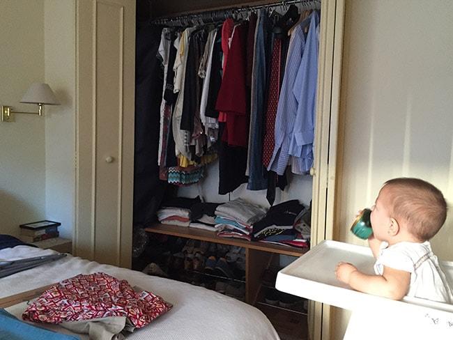 guía de planificación del armario
