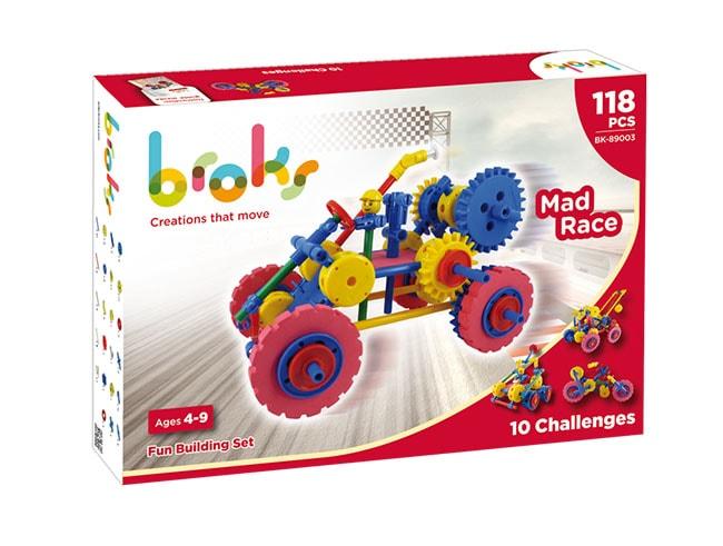 Broks - Mad race - juegos para pensar