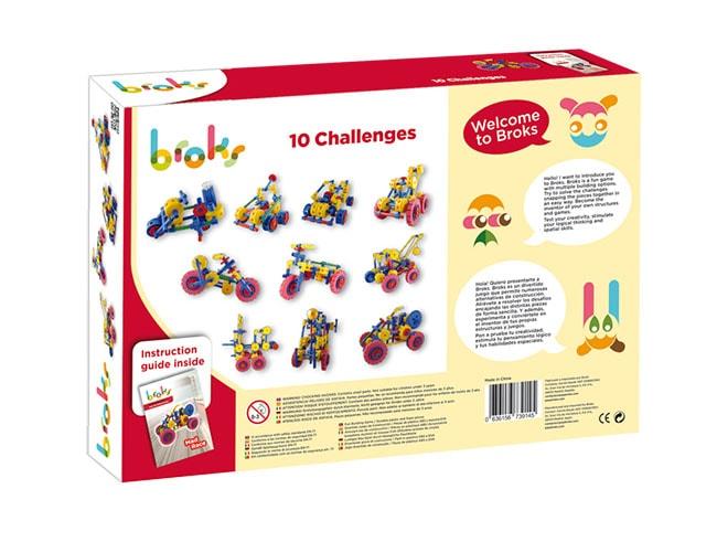 10 retos de Broks - juguetes para pensar