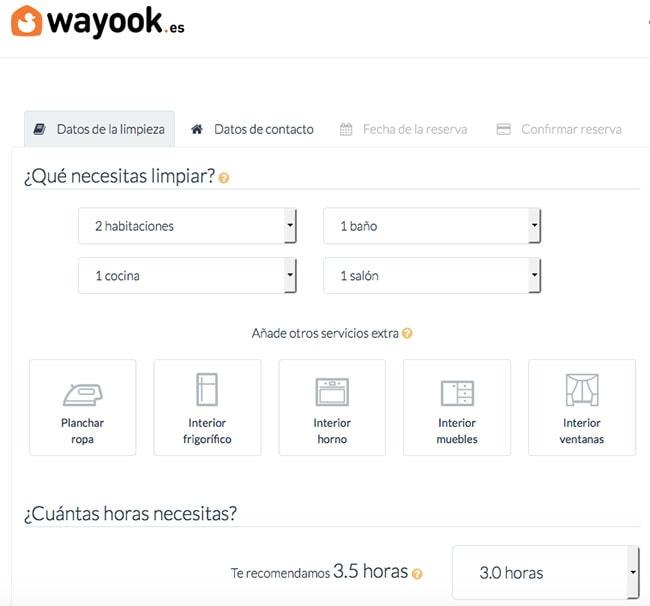 wayook - servicio de limpieza por horas