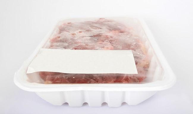 Cuánto duran los alimentos en el congelador, carne congelada