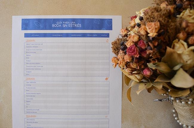 guia para organizar una boda sin estrés