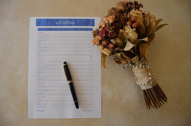 guia para organizar una boda