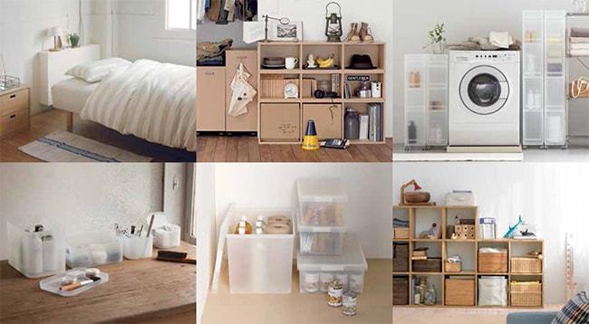Muji, mejores tiendas para organizar la casa