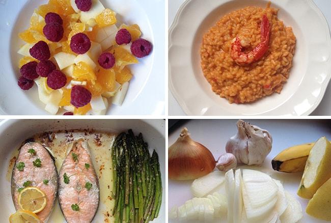 recomendaciones menús saludables