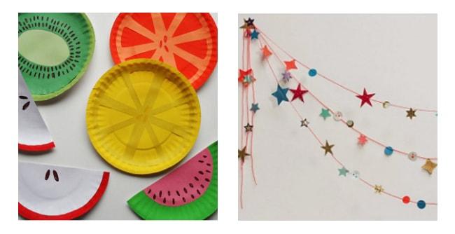 Carnaval con niños - decoración