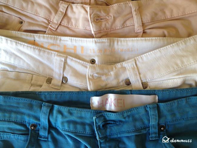 cambio de armario pantalones
