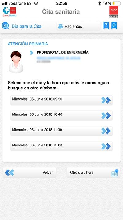 pedir cita en el centro de salud con esta app - citas