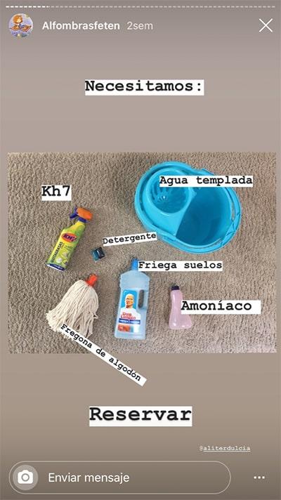 cónsejos para limpiar las alfombras de unpocodecanela