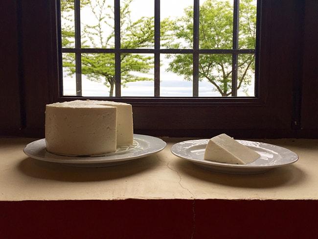 queso artesano fresco de cabra