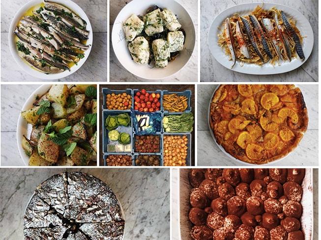 Menus familiares semanales dieta mediterranea