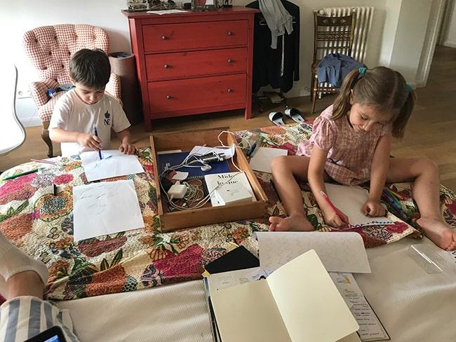Cuadernos de actividades de verano